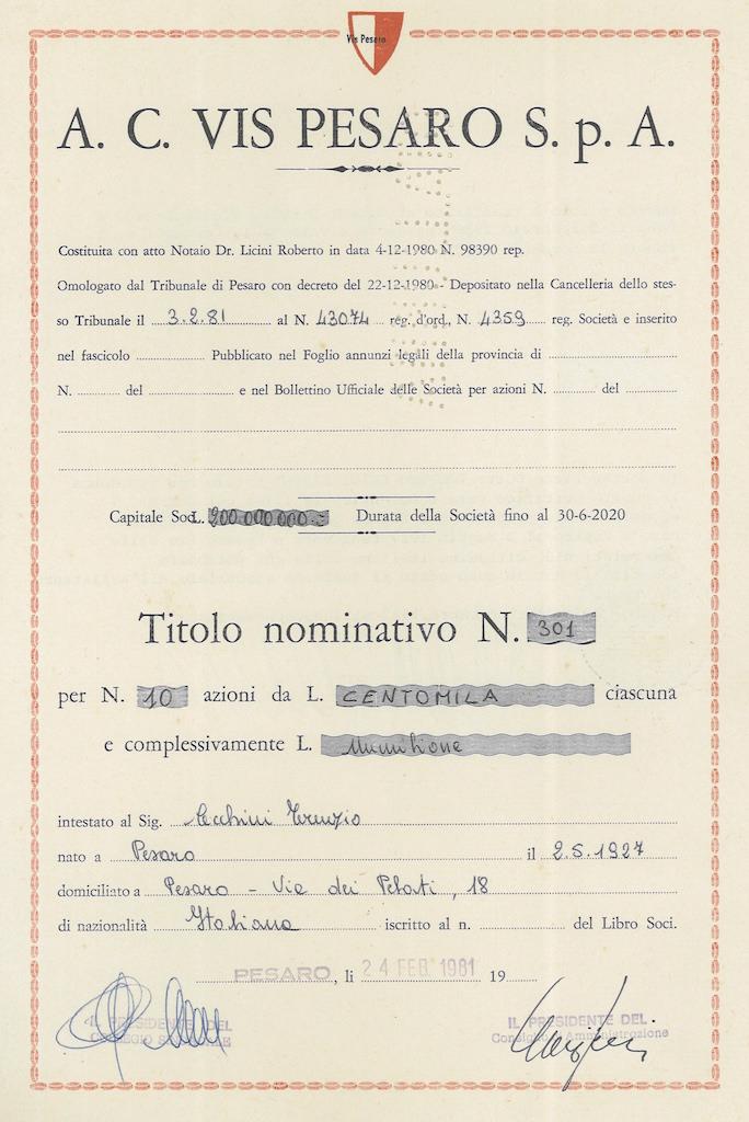 A. C. Vis Pesaro S.p.A.