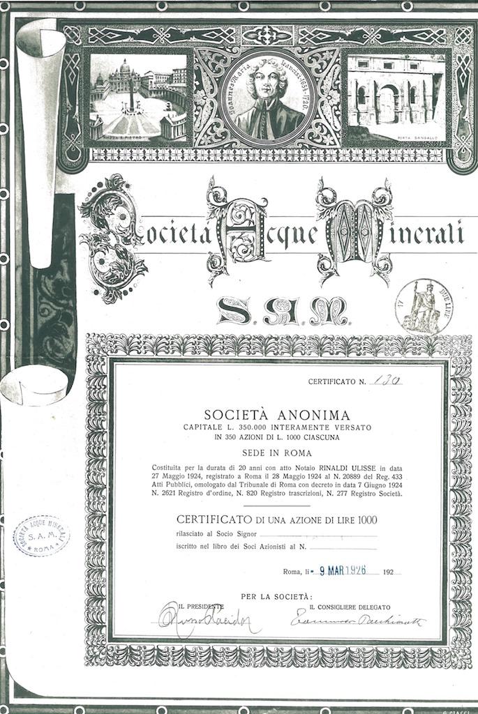 S.A.M. Società Acque Minerali