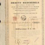 Comune di Cortemilia – Debito Redimibile per Opere Pubbl.-1