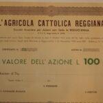 Agricola Cattolica Reggiana S.A. per Azioni L'-1