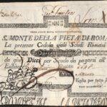 S. Monte della Pietà di Roma cedole-2