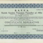 S.A.F.F.A. –  Soc. An. Finanziaria Fiammiferi ed affini-1