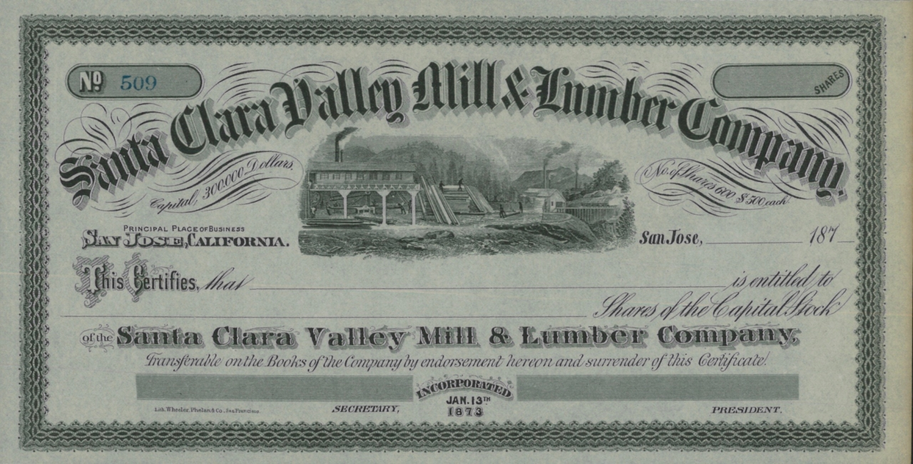 Santa Clara Valley Mill & Lumber Company