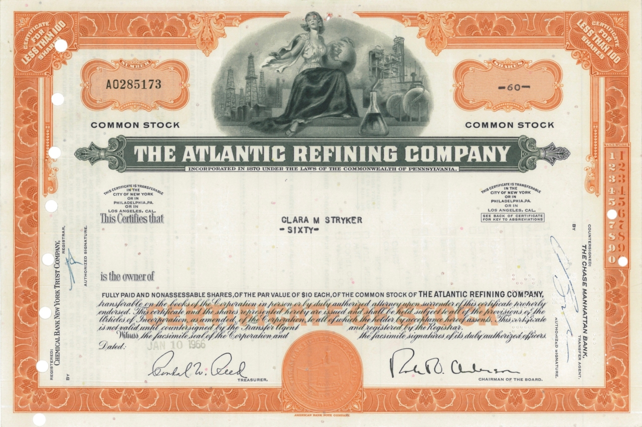 The Atlantic Refining Company