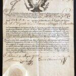 Nuovo Monte dei Creditori di Giustizia – Cesareo Real Diploma 29 Gennaio 1753 – Ducato di Milano-1