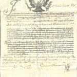 Nuovo Monte dei Creditori di Giustizia – Cesareo Real Diploma 29 Gennaio 1753 – Ducato di Milano-2