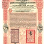 1907 Chinese Imperial Canton-Kowloon Railway 5% Gold Bond £100-1