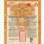 1898 Anglo-German Chinese Imperial Government Gold Loan-10