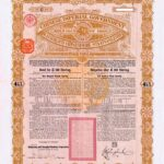 1898 Anglo-German Chinese Imperial Government Gold Loan-9