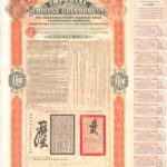 1908 Imperial Chinese Government Bond Tientsin-Pukow Railway Loan-1