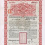 1898 Anglo-German Chinese Imperial Government Gold Loan-1