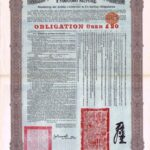 1908 Imperial Chinese Government Bond Tientsin-Pukow Railway Loan-3