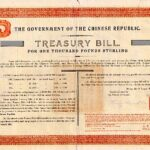 1918 Government Chinese Republic Treasury Bill Marconi Wireless Telegraph Loan-3