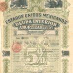 """""""Green Lady or Green Diamond"""" Estados Unidos Mexicanos 5% Bond-1"""