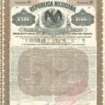 """Mexicana Brown"" Republica Mexicana, Deuda Consolidada Exterior 5% Bond-1"