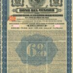 """Tesoro 195"" Republica Mexicana Bono Del Tesoro 6% Bond-2"