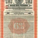 """Tesoro 195"" Republica Mexicana Bono Del Tesoro 6% Bond-1"