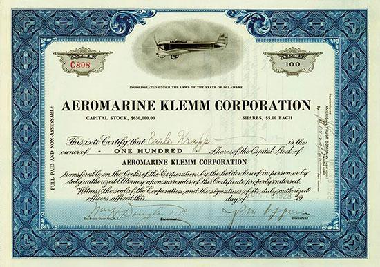 Aeromarine Klemm Corporation
