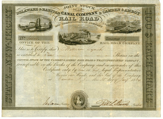 Camden & Amboy Rail Road & Transportation Company / Delaware & Raritan Canal Company