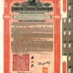 1911 Imperial Chinese Government  Hukuang Railway Gold Bond 5%-1