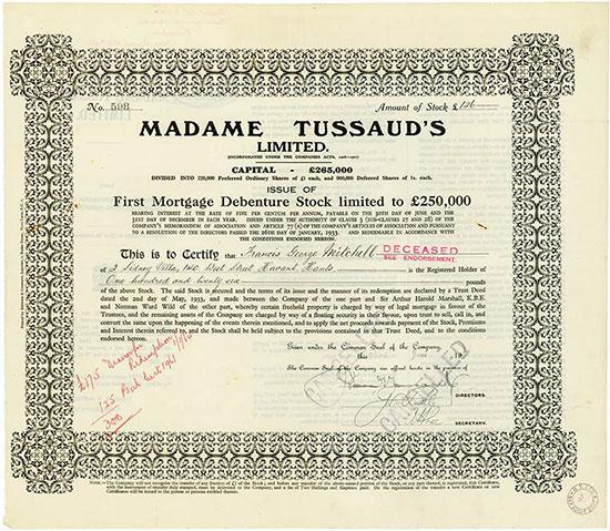 Madame Tussaud's Limited