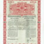 1898 Anglo-German Chinese Imperial Government Gold Loan-2