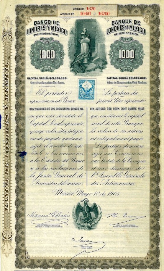 Banco de Londres y Mexico