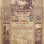 Kingdom of Roumania 20,000 Lei – Internal Loan 5% Ministry of Finance Public Debt 1920-4