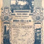 Kingdom of Roumania 20,000 Lei – Internal Loan 5% Ministry of Finance Public Debt 1920-2