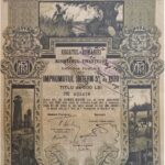 Kingdom of Roumania 20,000 Lei – Internal Loan 5% Ministry of Finance Public Debt 1920-5