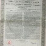 KINGDOM OF ROUMANIA EXTERNAL LOAN 7,5% OR 1931 Autonomous Fund of Monopolies-1