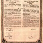 Kingdom of Roumania – 4.5% Consolidation Loan 1934-2