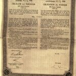 Kingdom of Roumania – 4.5% Consolidation Loan 1934-3