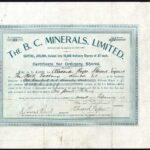 B. C. Minerals Ltd-1