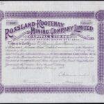 Rossland-Kootenay Mining Company Ltd-1