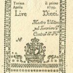 Biglietti di Credito verso le Regie Finanze – Lire 10-1