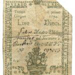 Biglietti di Credito verso le Regie Finanze – Lire 10-2