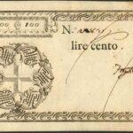 Biglietti di Credito verso le Regie Finanze – Lire 100-2