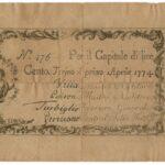 Biglietti di Credito verso le Regie Finanze – Lire 100-8