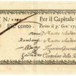 Biglietti di Credito verso le Regie Finanze – Lire 100-1