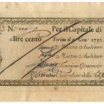 Biglietti di Credito verso le Regie Finanze – Lire 100-3