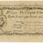 Biglietti di Credito verso le Regie Finanze – Lire 100-6