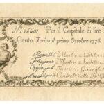 Biglietti di Credito verso le Regie Finanze – Lire 100-9