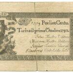 Biglietti di Credito verso le Regie Finanze – Lire 100-14