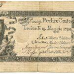 Biglietti di Credito verso le Regie Finanze – Lire 100-15