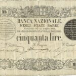 Banca Nazionale negli Stati Sardi – Lire 50-6