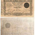 Banca Nazionale negli Stati Sardi – Lire 20-5