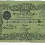 Banca Nazionale negli Stati Sardi – Lire 250-4