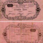Banca Nazionale negli Stati Sardi – Lire 100-10