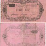 Banca Nazionale negli Stati Sardi – Lire 100-9
